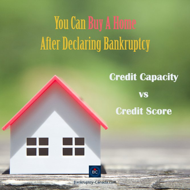 declaring bankruptcy doesnt mean you cant purchase a