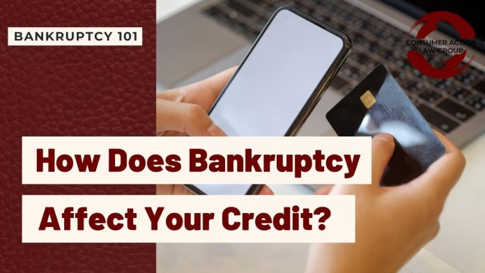 how does bankruptcy affect your credit youtube