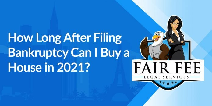 how long after filing bankruptcy can i buy a house in 2021