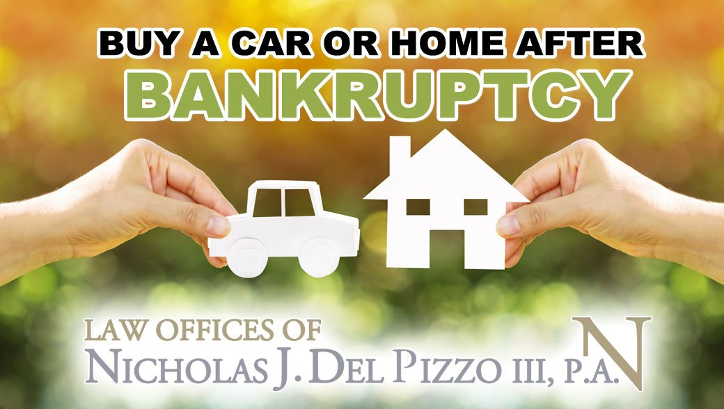 How long until I can buy a car or home after bankruptcy ...