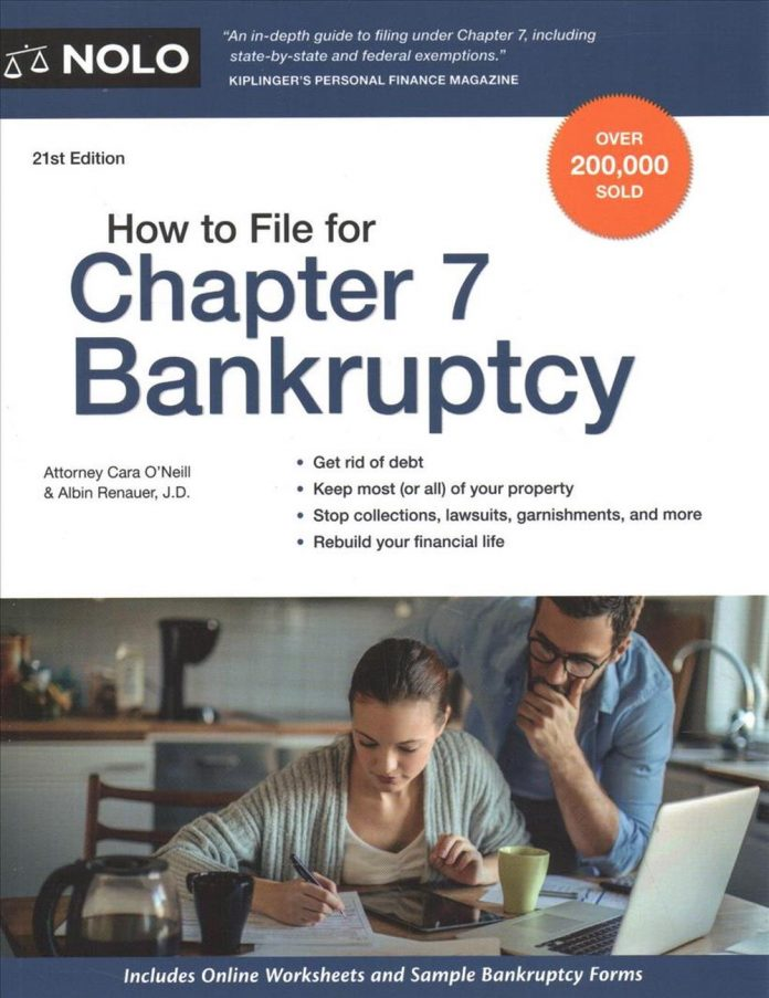 how to file for chapter 7 bankruptcy by cara oneill