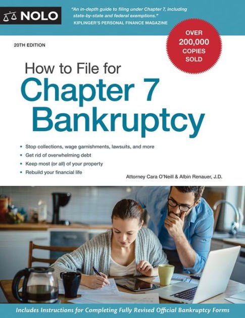 How to File for Chapter 7 Bankruptcy by Stephen Elias ...