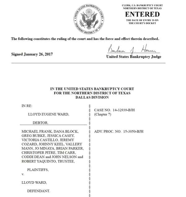 how to get copies of bankruptcy discharges 617 fight sports
