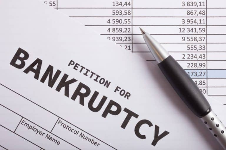 What happens when you file for bankruptcy in Singapore?